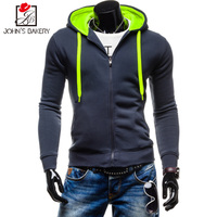 John S Bakery 2017 New Brand Hoodies Men Sweatshirt Male Hit Color Hooded Hip Hop Long