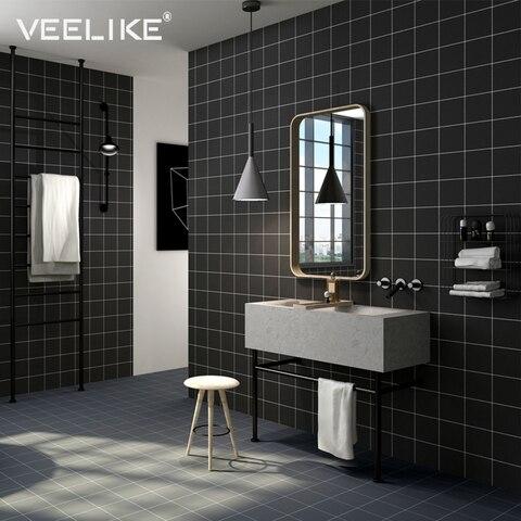 Papel de Parede para Decoração Parede do Banheiro Telha de Mosaico de Azulejos Casca e Vara Adesivos de Parede Moderno Tijolo Decalques Auto Adesivo da da da Cozinha Backsplash