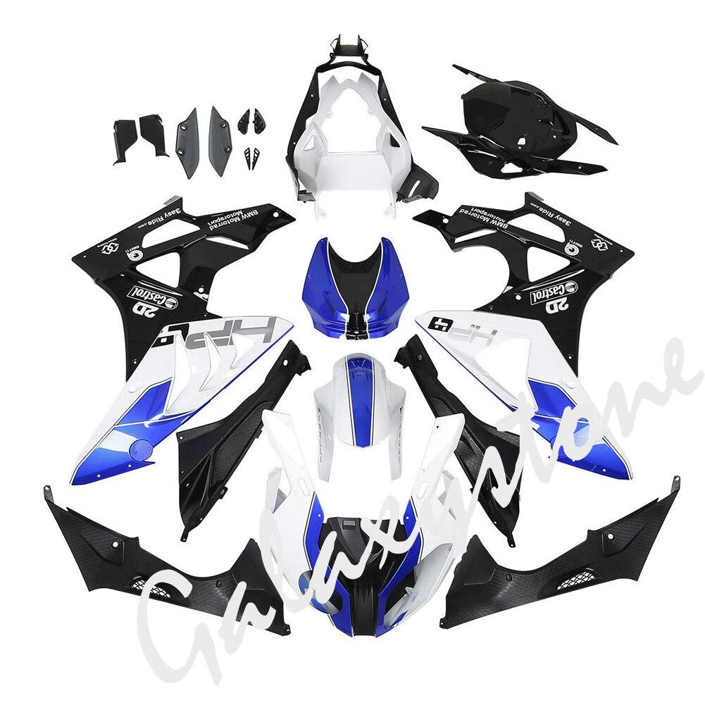 Blue White INJECTION Fairing Bodywork Kit For BMW S1000RR S 1000 RR 2009 2010 2011 2012 2013 2014