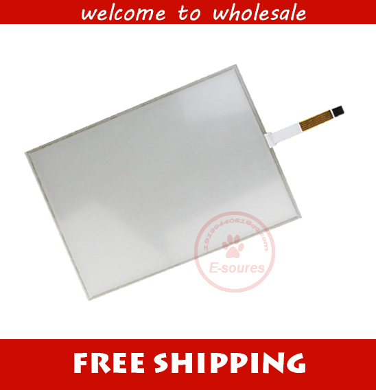 цена New 5 wire 15 Inch USB touch Screen+USB Controller Board 322*247mm touch panel, 5 wire resistive industrial USB touch Glass