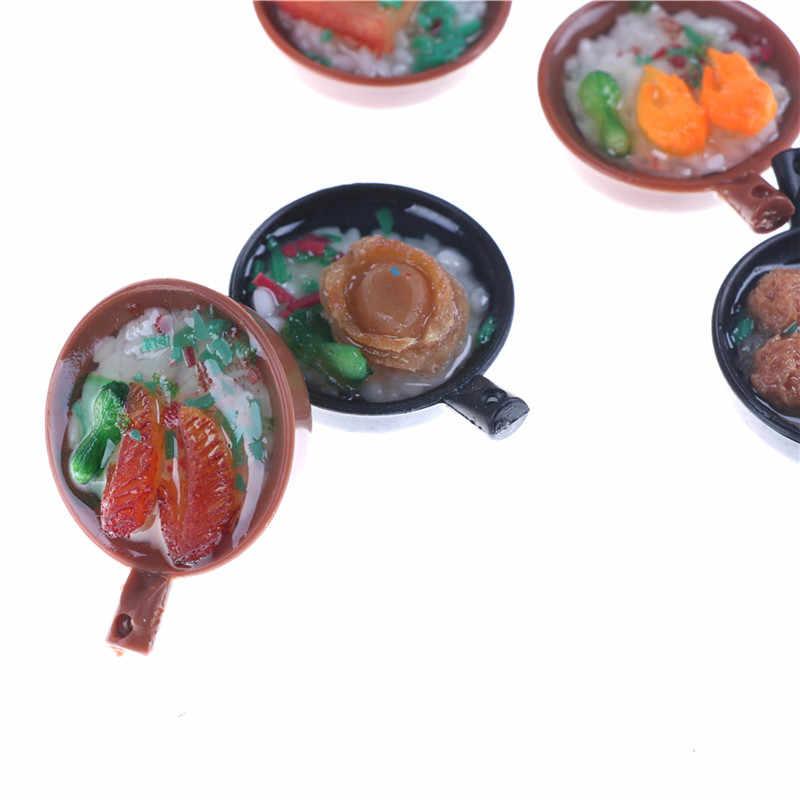 1,5*3,5 см 1:12 муляж пищевых продуктов брелок Мини запеканка рисоварка брелок маленький детский Кукольный домик аксессуары