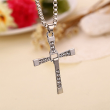 European International Trade Original Speed and Passion 7 Toledo Necklace Cross Pendant Men Women Jewelry