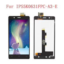 ЖК-дисплей Дисплей Сенсорный экран для BQ Aquaris E4.5 мобильного телефона ЖК-дисплей s планшета Ассамблеи Запчасти для авто 5 шт./лот