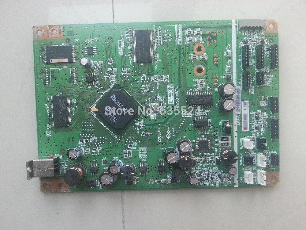 Mainboard de Impressora Genuíno para Epson Stylus Photo Num. C658 Testado! R360-parte 2110399-05