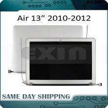 """جديد LCD الجمعية ل ماك بوك اير 13 """"A1369 A1466 شاشة LCD LED شاشة الجمعية كاملة 2010 2011 2012 MC503 MC965 MD508 MD231"""