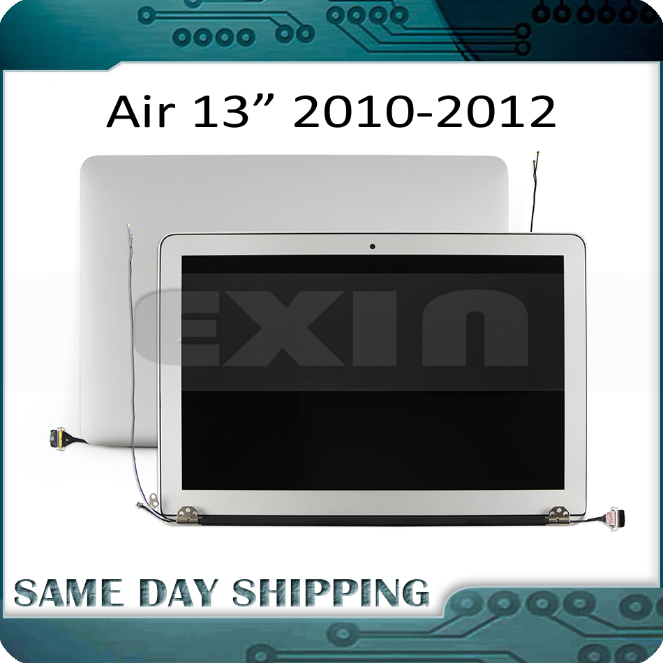 "Image 1 - NEW LCD Assembly for MacBook Air 13"" A1369 A1466 LCD LED Display Screen Full Assembly 2010 2011 2012 MC503 MC965 MD508 MD231-in Laptop LCD Screen from Computer & Office"