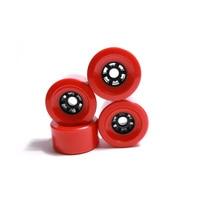 Big 80mm 87mm 83mm 90mm 97mm Longboard Wheel SHR78A Red Color PU Wheels High Level Soft