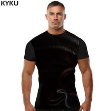 KYKU Dragon Ball Z T shirt Cobra Tops Dark Clothing Terror Clothes  shirts T-shirt Men Man