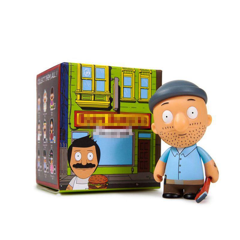 Bobs Burgers Mini Series 2 Mini-Figures Random doll Opened Blind BoxBobs Burgers Mini Series 2 Mini-Figures Random doll Opened Blind Box