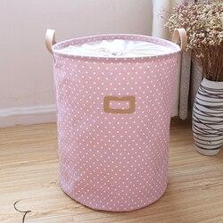 Wodoodporna kosz na pranie torba kolorowe na ubrania w domu ubrania beczka do przechowywania zabawek dla dzieci kosz na bieliznę organizator w Kosze na pranie od Dom i ogród na