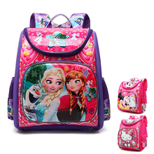 Barn EVA Skole Vesker For Girls New Kids Ryggsekk Monster High WINX Bokveske Princess Skolevesker