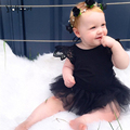 Hot Sale 2016 Summer Infant Baby Girl Dress 1 Year Girl Baby Birthday Dress Girls Princess Party Dresses Baby Clothing