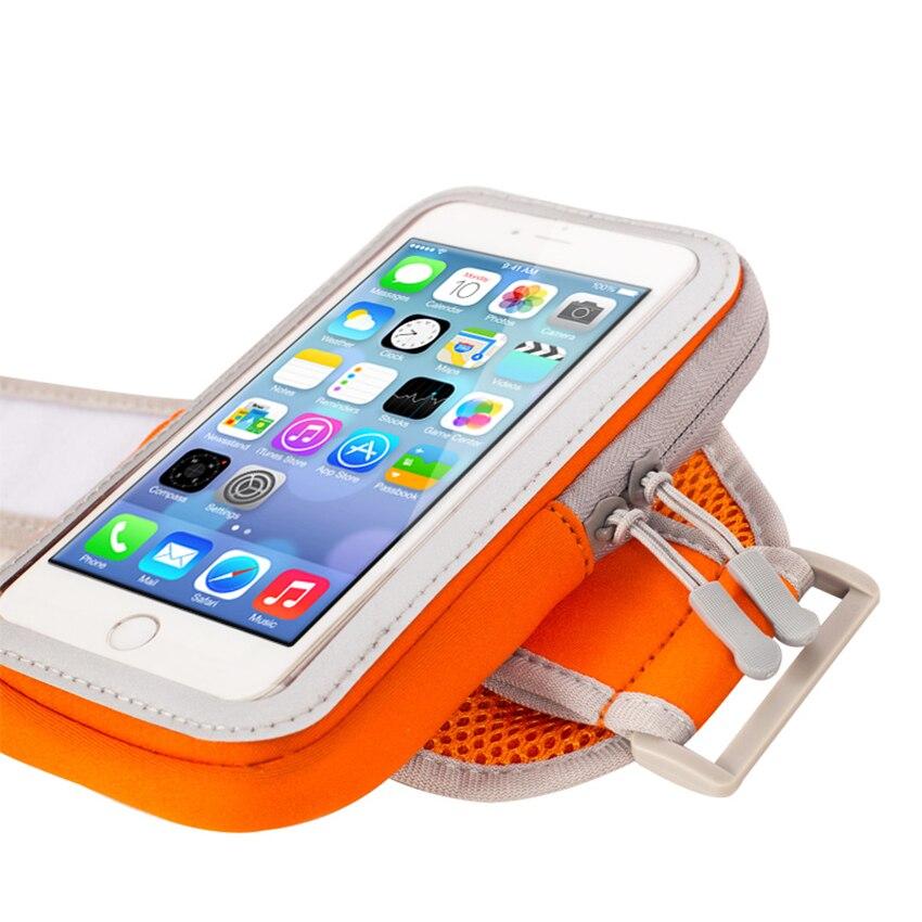 Läuft Tasche Telefon Fall Sport Armband Auf Handgelenk Abdeckung Universal-Brassard Telefon Smartphone Arm Halter Gym Bewegung Im Freien Fall