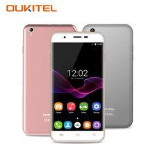 Oukitel U7 Max Смартфон Android 6.0 5.5 дюймов HD 1280*720 4 ядра 1 ГБ Оперативная память 8 ГБ Встроенная память 13.0 MP 3 г Dual SIM мобильный телефон ячеек GPS