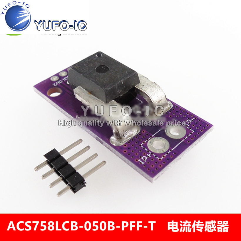 ACS758LCB-050-b-PFF -t linear current hall current sensor moduleACS758LCB-050-b-PFF -t linear current hall current sensor module