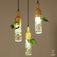 Modern Simple Personality Design Led Lamp Lighting Living Room Bedroom Dining Room Window Bar Plant Glass