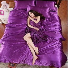 PROMOTION New arrival! SILK FEELING bedding set.bed linen bedclothes.bedspread/bed sheet /duvet cover TSX