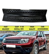 Radiator grille for Renault Duster 2010 2014 FL 2015 2016  ABS