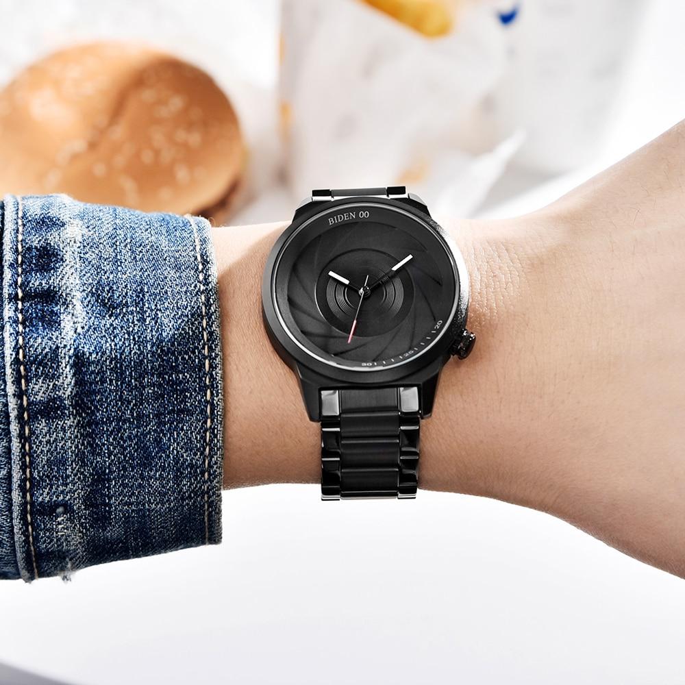 BIDEN BD0109 Photographer Series Creative Wrist Watch 6