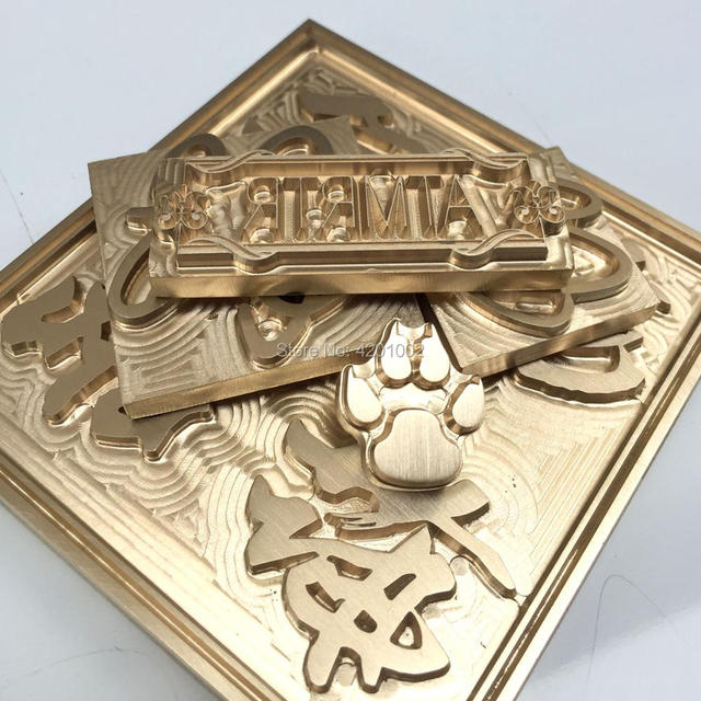 Leather Stamp Tools Wood Custom Mold Logos Logo Hand Made