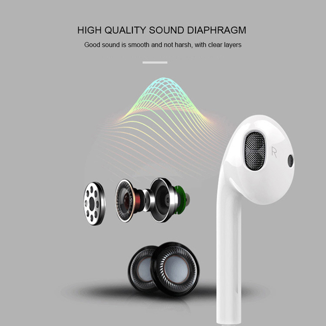 JS 3.5mm Earphone Wired Headphones Music Earbuds Stereo Gaming Earphones With Micphone For iPhone Xiaomi Huawei Sport Headset