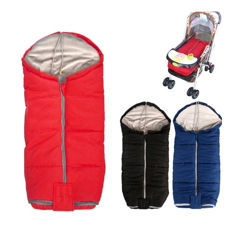 40X80cm New Arrival Baby Sleeping Bag Winter Envelope Infant Sleep Sack Baby Stroller Cushion Accessories цены