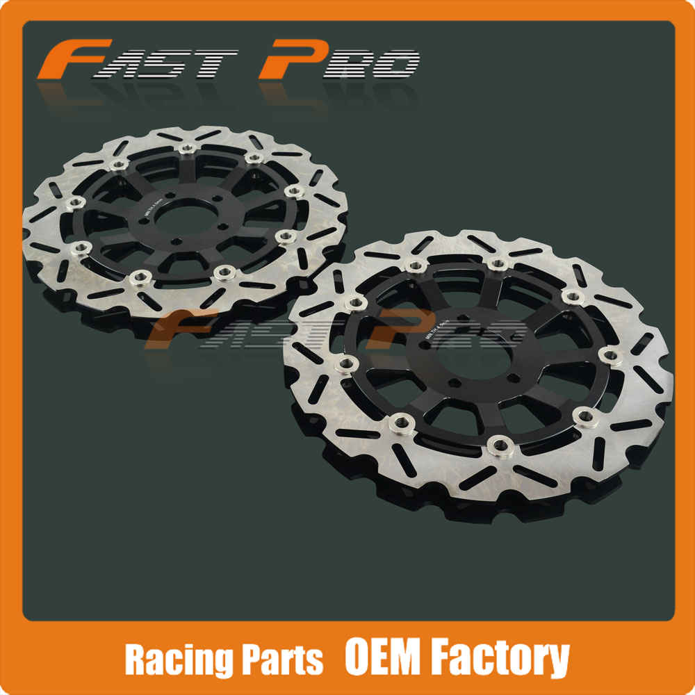 Front Floating Brake Disc Rotor For KAWASAKI ZXR400 NINJA ZXR 750 ZX9R 900 ZEPHYR ZRX 1100 1200 ZR1100 ZZR1100 Motorcycle цены онлайн