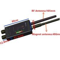 1MHz-12GH радио анти-шпионский детектор FBI GSM радиочастотный сигнал авто трекер детекторы GPS трекер поисковый ошибка с длинной магнитной светоди...