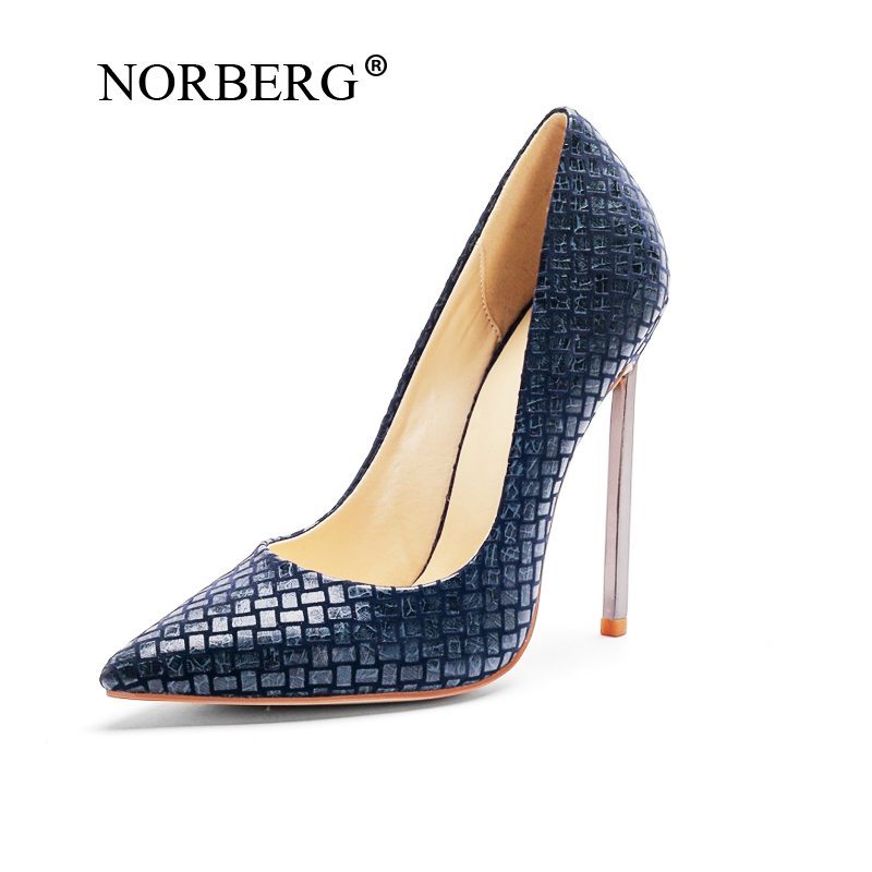 NORBERG 2019 New pattern fashion ladies sex red  Single shoes high heels banquet shoes wedding   stiletto Work shoesNORBERG 2019 New pattern fashion ladies sex red  Single shoes high heels banquet shoes wedding   stiletto Work shoes
