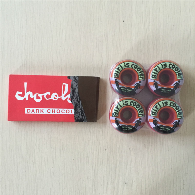 Professional Skate Boarding Parts Element And Girl And Chocolate Wheels With Girl And Chocolate ABEC-3 Bearing For Pro Skating
