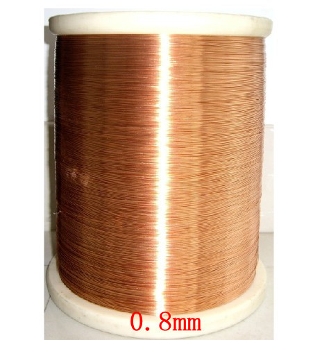 цена на 0.8mm *100m / pcs QA-1-155 2UEW Polyurethane enameled Wire Copper Wire enameled Repair cable Free shipping