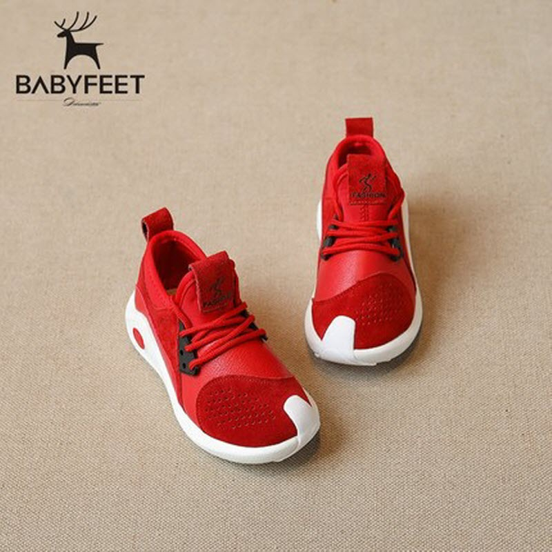 2017 Autumn Brand Babyfeet High Quality Children Shoes Breathable leisure Running kids Sports shoes baby Girls and Boys Sneakers kids shoes girls boys pu leather lace up high children sneakers girl baby shoes sport autumn winter children shoes