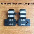 Free shipping Fujikura FSM-60S Fusion Splicer clamp / fiber plate / pigtail / jumper plate 60s fiber clamp optic plate 1 pair