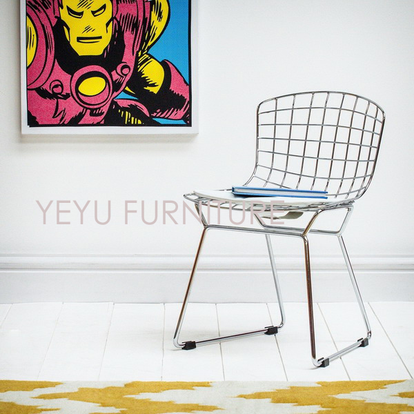 Child Wire Chair Kids Chair Bertoia Kids Chair Minimalist Modern Baby  Dining Chair Modern Classic Design Popular Chromed Chair In Children Chairs  From ...