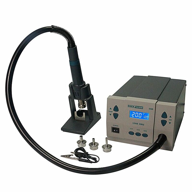QUICK Spot 861DW Hot Air Rework station soldering station quick spot 861dw hot air rework station soldering station