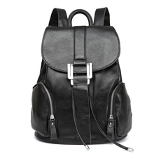 2018 Hot! Women fashion backpack travel mochilas school leather business bag large laptop shopping