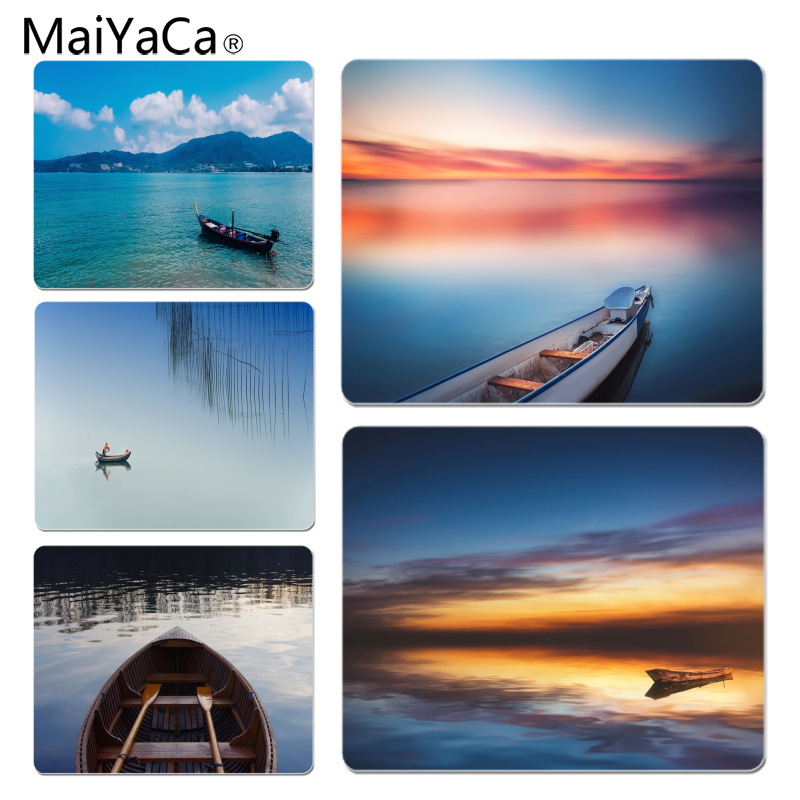 MaiYaCa Cool New Abandoned boat Office Mice Gamer Soft Mouse Pad Size for 180x220x2mm and 250x290x2mm Rubber Mousemats