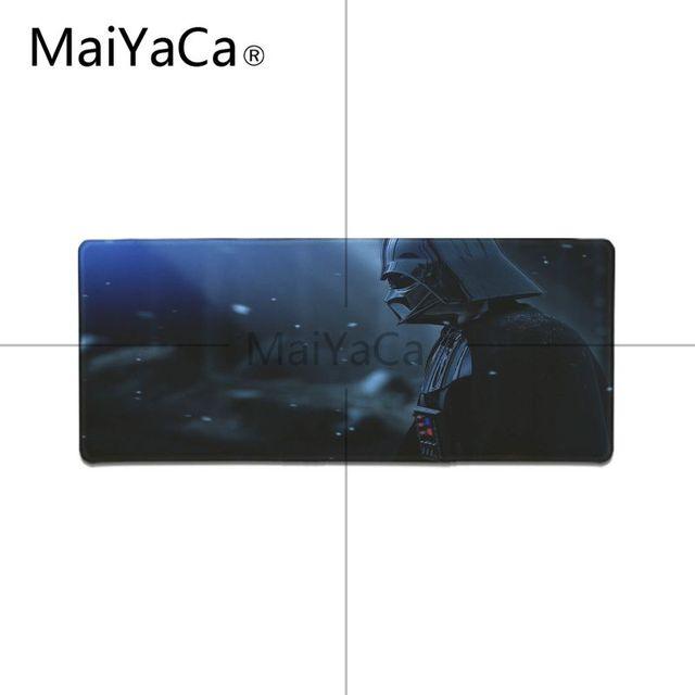 MaiYaCa حرب النجوم ماوس الوسادة ألعاب اللعب الحصير كبير الحجم المطاط لعبة ماوس الوسادة للعب لعبة عاشق