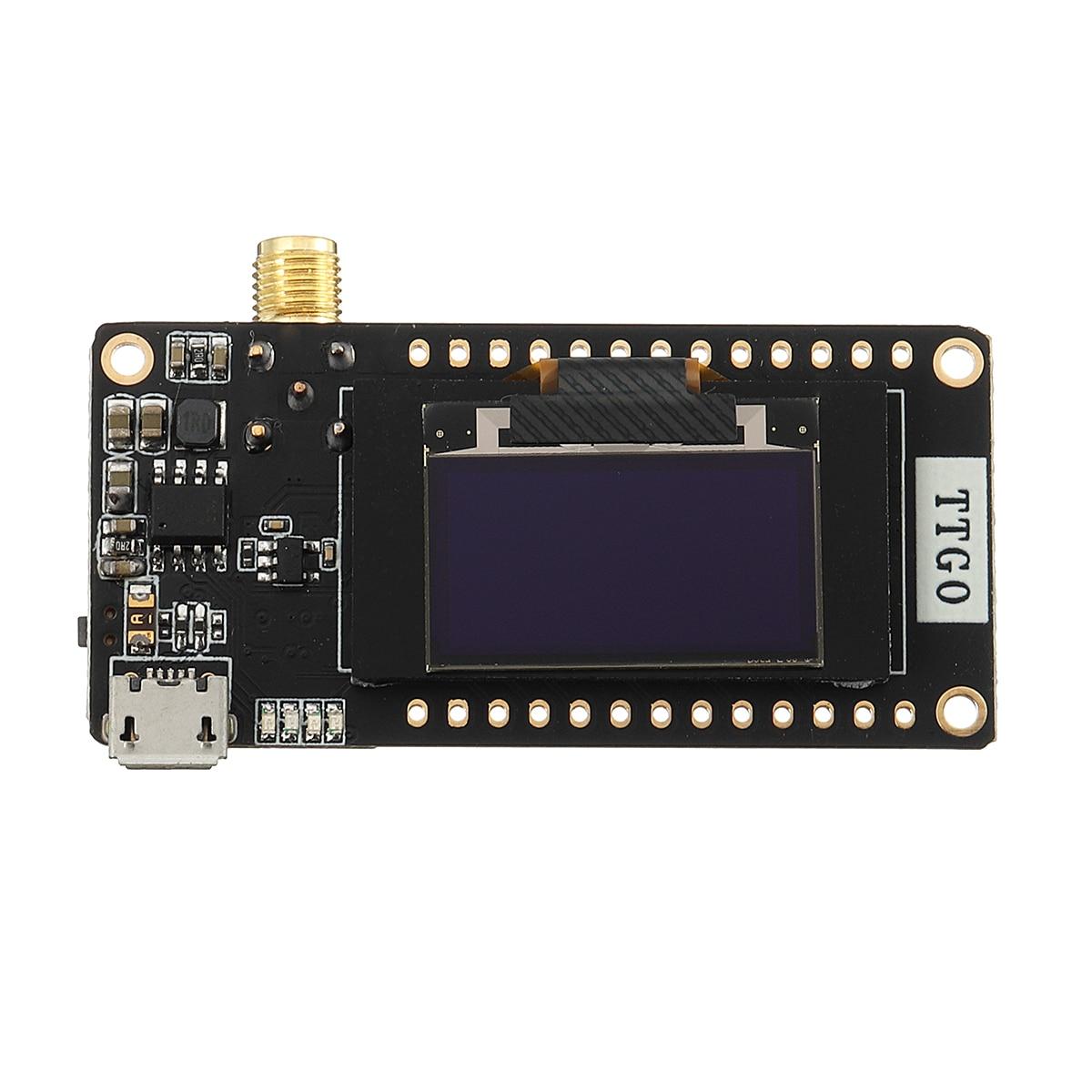 LoRa32 V2.1 868 Mhz ESP32 LoRa OLED 0.96 pouces carte SD bluetooth WIFI Module sans filLoRa32 V2.1 868 Mhz ESP32 LoRa OLED 0.96 pouces carte SD bluetooth WIFI Module sans fil