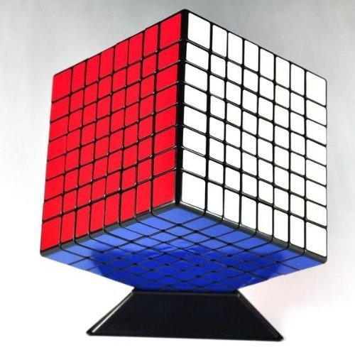 Caliente venta ShengShou 8 x 8 Cubo mágico profesional PVC y mate pegatinas Cubo rompecabezas velocidad juguetes clásicos aprendizaje educativo juguete