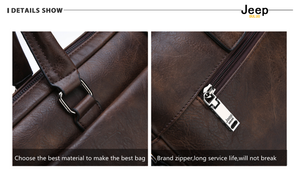 HTB19OXUXRWD3KVjSZFsq6AqkpXaw JEEP BULUO Brand Man Business Briefcase Bag Split Leather High Quality Men office Bags For 14 inch Laptop A4 File Causel Male