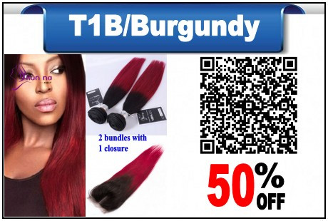 New-Arrival-Straight-hair-bundles-100g-Brazilian-virgin-har-2-bundles-with-Closure-Ombre-color-T1b_conew1