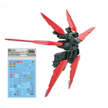 EffectsWings Gundam assembly model MG 1/100 Red Dragon Backbag for MBF-P02 Fighter Astray Mobile Suit kids toys astray