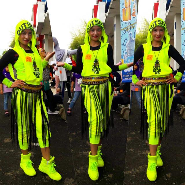 11038af4355d8 Hip Hop Traje De Dança desgaste desempenho mulheres romper playsuit  macacões soltos harem pants jazz Europeu
