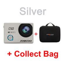SOOCOO C50 Action 4K 24fps Sports Camera Wifi Gyro Adjustable Viewing angles NTK96660 30M Waterproof Sport DV Action Cam