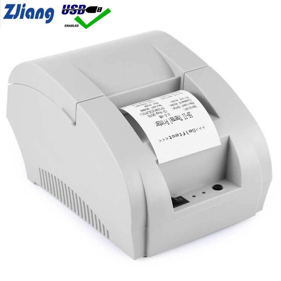 Thermal Printer 80 Mm POS Printer Ticker Periksa Restoran dan Supermarket Dukungan Laci Kas