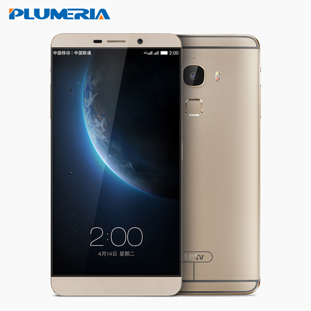"New Original Letv Le Max X900 Mobile Phone Android OS 5.0 Octa Core 4G RAM 32/64GB ROM 21MP 2560*1440P Fingerprint 6.33"" LTE 4G"