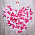 Newest 2000pcs/lot Petalas Rose Petals Wedding Decorations Artificial Flowers Rose Rose Petals De Boda Petali Accessorie