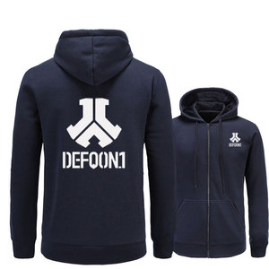 Image 4 - 2017 New Defqon 1 Rock Band Hip Hop Men Hoodies Sweatshirts Winter Autumn Zipper Fleece Casual Jackets Hoodie male clothing