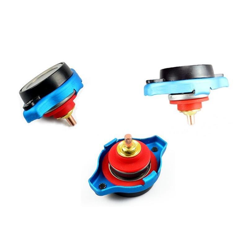 0.9BAR Car Radiator Cap Cover Temperature Gauge 0-200 ℃ Meter Small Head